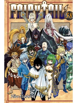 cover image of Fairy Tail, Volume 58